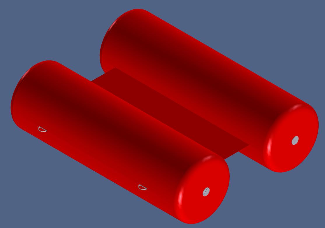 Floating hoses CAD