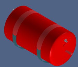 Flootzer floating hose CAD